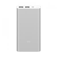 Внешний аккумулятор Xiaomi Mi Power Bank 2S 10000 mAh (2 USB) Silver